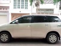 Cần bán Toyota Innova 2.0G 2011, màu ghi vàng, giá 396tr