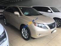 Cần bán Lexus RX 350 sản xuất 2009, ĐK 2010, nhập Mỹ, màu vàng cát, LH: 0904927272