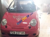Cần bán gấp Daewoo Matiz MT sản xuất 2008, màu đỏ, giá tốt