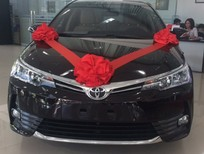Bán ô tô Toyota Corolla altis 1.8E CVT sản xuất 2018, màu đen