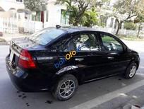 Cần bán gấp Chevrolet Aveo sản xuất 2011, màu đen, 110tr