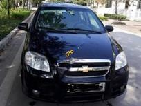 Bán Chevrolet Aveo 1.5 MT đời 2011, màu đen số sàn