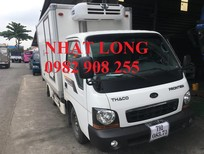 Xe tải Thaco Kia vô thành phố tải trọng 2T4, 2T3, 1T9, 1T4, 1T25 cao mới nhất năm 2017