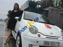 Cần bán lại xe Daewoo Matiz MT đời 2005, màu trắng, giá 58tr