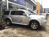 Cần bán gấp Ford Everest Limited đời 2011, màu bạc