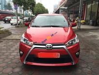 Cần bán Toyota Yaris 1.3G đời 2016, màu đỏ, xe nhập