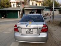 Cần bán lại xe Chevrolet Aveo sản xuất 2012, màu bạc