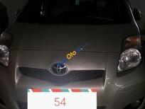 Bán xe Yaris 1,3AT, SX 2009 chính chủ xe nhập khẩu, màu vàng cát, biển số Hà Nội 30A