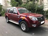 Cần bán lại xe Ford Everest MT đời 2009, màu đỏ số sàn