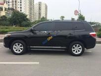 Cần bán lại xe Toyota Highlander SE 2.7 đời 2011, màu đen, nhập khẩu chính chủ
