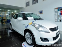 Đại lý Suzuki Việt Anh bán xe Suzuki Swift đời 2017, màu trắng giá tốt kèm nhiều khuyến mãi