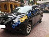 Bán xe Toyota Highlander đời 2009, màu đen chính chủ, giá chỉ 810 triệu