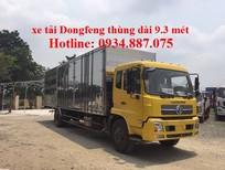 Bán xe tải Dongfeng 6.7 tấn – 6T7 – 6,7 tấn nhập khẩu thùng kín dài 9.3m