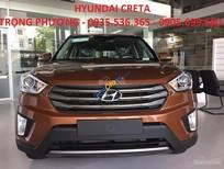 Bán Hyundai Creta năm 2017, màu nâu, nhập khẩu nguyên chiếc, giá 711tr