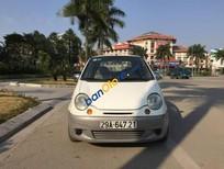 Cần bán lại xe Daewoo Matiz MT đời 2007, màu trắng, giá tốt