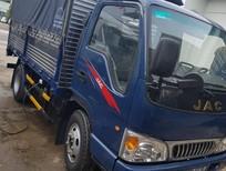 Xe tải Jac 2t4 màu xanh, khuyến mãi trước bạ 10tr, giá tốt nhất