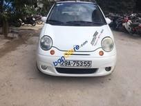 Cần bán Daewoo Matiz MT đời 2007, màu trắng, giá tốt