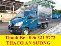 Thaco Towner 990 tải trọng 990 kg, EURO IV, máy lạnh cabin, đời 2017, hỗ trợ trả góp 75%
