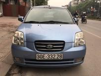 Bán xe Kia Morning SLX đời 2008, màu xanh lam, xe nhập, chính chủ