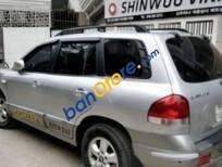 Bán gấp Hyundai Santa Fe đời 2005, màu bạc số tự động