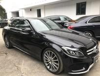 Bán xe Mercedes C300 2017, màu đen chạy 8760 km cực mới giá cực rẻ