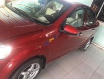 Cần bán gấp Daewoo Gentra SX năm 2011, màu đỏ