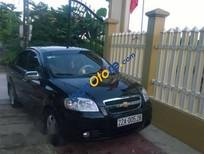 Cần bán Chevrolet Aveo đời 2011, màu đen xe gia đình