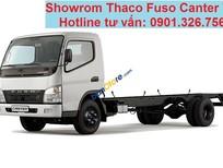 Xe tải Thaco Fuso Canter 7.5, tải trọng 3.8 tấn - 4.5 tấn/ thùng mui bạt/ thùng kín/ thùng lửng