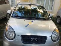 Cần bán Kia Morning SLX đời 2008, màu bạc, nhập khẩu nguyên chiếc chính chủ, 245tr