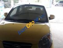 Bán xe Kia Morning AT đời 2010, màu vàng