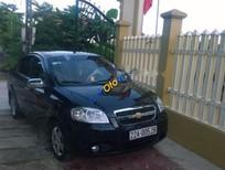 Cần bán lại xe Chevrolet Aveo 1.5 MT 2011, màu đen còn mới