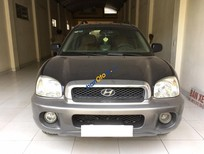 Bán xe Hyundai Santa Fe Gold sản xuất 2003, màu xanh đen, xe nhập khẩu