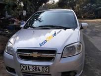 Cần bán xe Chevrolet Aveo năm 2011, màu bạc