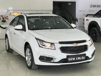 Cần bán Chevrolet Cruze LTZ đời 2018, màu trắng, trả góp 90%