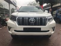 Bán Toyota Prado VX đời 2018, màu trắng, nhập khẩu chính hãng