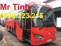 Sơn và phối màu xe khách 29 chỗ bầu hơi Hyundai nhập Thaco ráp mới nhất 2018