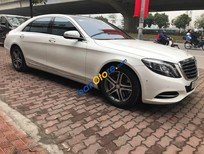 Bán Mercedes S400 xe đi rồi sản xuất 2016, đăng ký 2016, trắng nội thất nâu