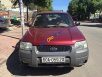 Cần bán xe Ford Escape XLT năm 2003, màu đỏ, giá chỉ 210 triệu