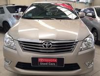 Bán xe Toyota Innova 2.0G 2013, màu vàng