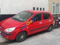 Cần bán lại xe Hyundai Click đời 2007, màu đỏ, xe nhập, giá chỉ 220 triệu