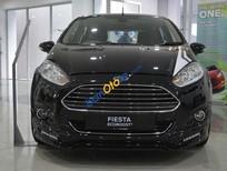 Bán Ford Fiesta 1.0 Ecoboost sản xuất 2018, màu đen. Hỗ trợ giá tốt, L/H 0907782222