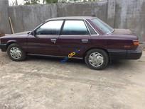 Cần bán lại xe Toyota Camry đời 1990, màu đỏ, nhập khẩu số sàn