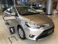 Bán xe Toyota Vios, 160 triệu đồng bạn có thể sở hữu xe Vios 1.5 E màu ghi vàng, mới 100%