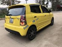 Bán xe Kia Morning SLX đời 2008, màu vàng, nhập khẩu