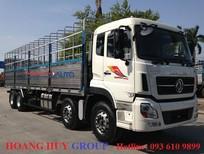 Giá xe Dongfeng 4 chân Hoàng Huy, xe tải Dongfeng 4 chân 17t9 2017-2018