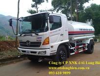 Xe phun nước rửa đường Hino 4-6m3, 8-14m3 – 2019
