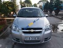 Bán xe Chevrolet Aveo đời 2012, màu bạc