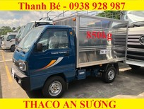 Thaco Towner 800 thùng kín tải trọng 850 kg, đời 2017, hỗ trợ trả góp 75%, trả trước 50 triệu