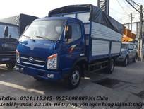Cần bán xe tải TMT 2.3 Tấn máy Hyundai, xe có sẵn thùng, trả góp