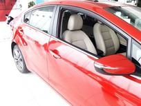 Bán xe kia cerato 1.6 AT màu đỏ, giao xe ngay, hàng có 1 không 2.